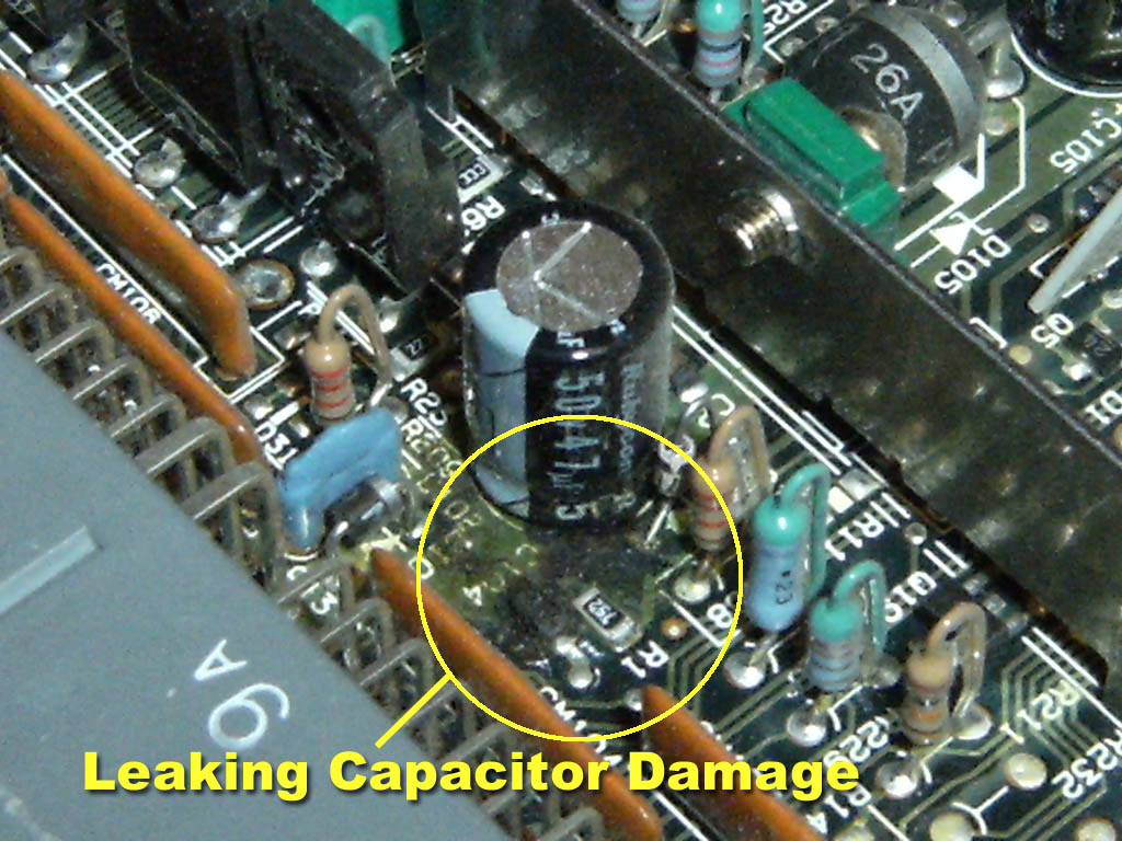 Repair cap besides Speedo7 furthermore 180 Jcs as well Schematic For Capacitor Html besides Capacitors At Radio Shack. on electrolytic capacitor leakage on board