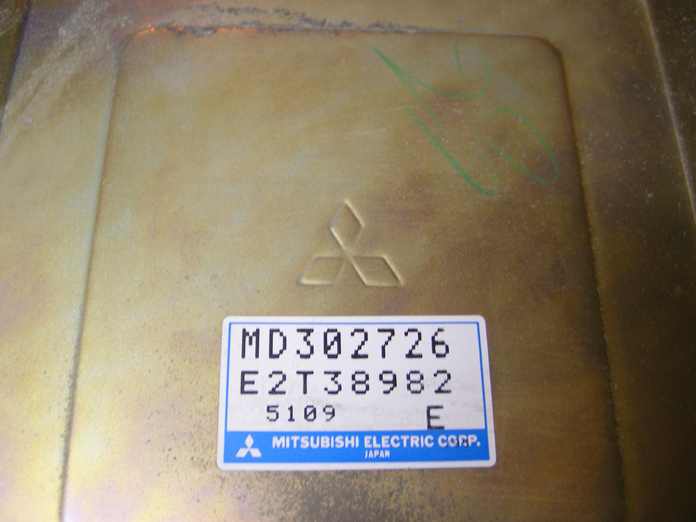 Mitsubishi Eprom Ecu Info Lancer 93 Wiring Diagram Md302726 E2t38982 5109